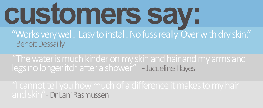 shower head filter reviews - what our customers say